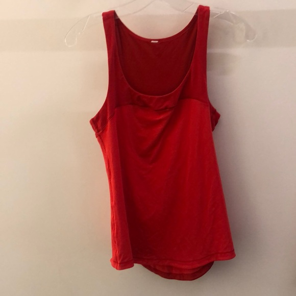 lululemon athletica Tops - Lululemon red tank, sz 6, 68449
